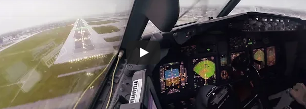 Can you land with autopilot and gusty?